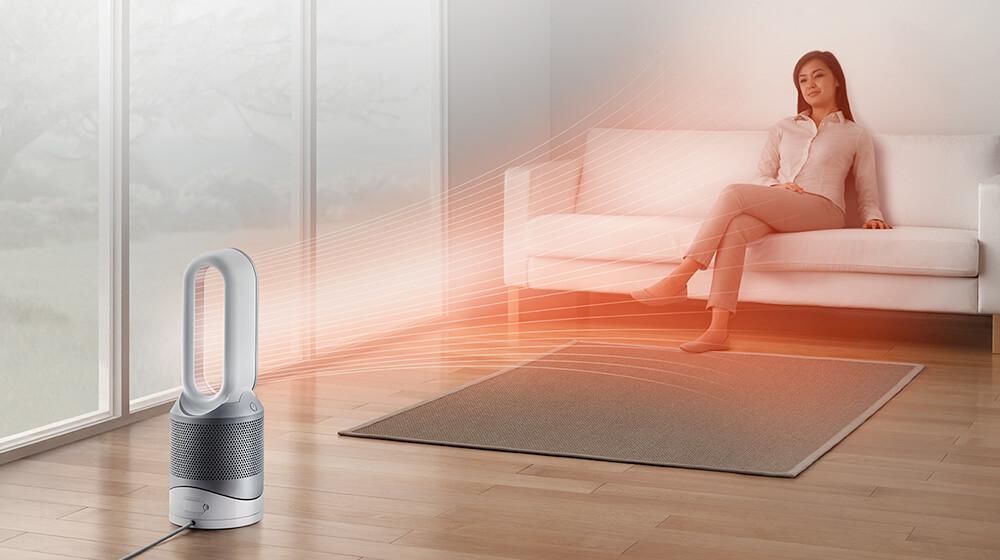 Dyson Pure Hot+Cool Link Análisis: purifica, calienta y ventila el aire de tu hogar