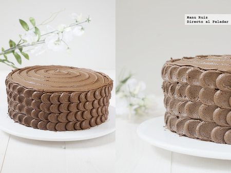 Tarta de chocolate. Receta
