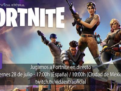 Jugamos en directo a Fortnite a las 17h (las 10h en Ciudad de México) [Finalizado]