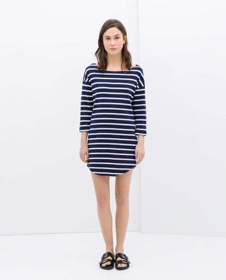 Zara rayas vestidos primavera 2014