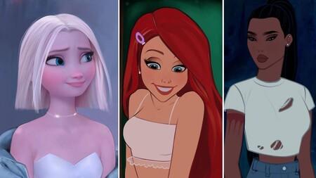 Estos artistas digitales reinterpretan a las princesas Disney en clave moderna y los vídeos de cómo lo hacen son una pasada