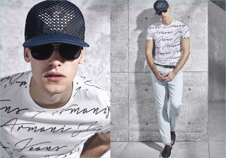 Armani Jeans 2017 Spring Summer Menswear