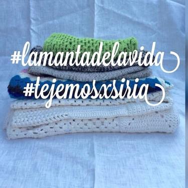 #lamantadelavida. Cuando el tejer confirió una acción solidaria