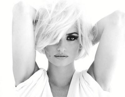 Penélope Cruz al estilo Marilyn