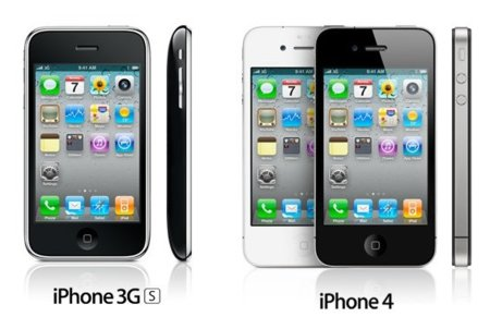 Diferencias iPhone 3GS y iPhone 4