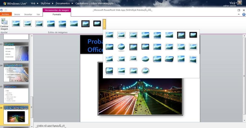 Foto de Office Web Apps Tech Preview (2/13)