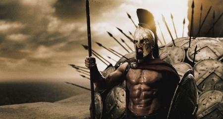 La batalla de las Termópilas en '300' a través del editor de 'Skyrim'