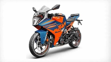 Ktm 2022 Rc 390 Front Right