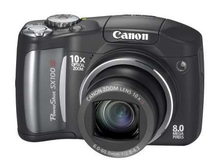 Canon PowerShot SX100 IS, con zoom 10x