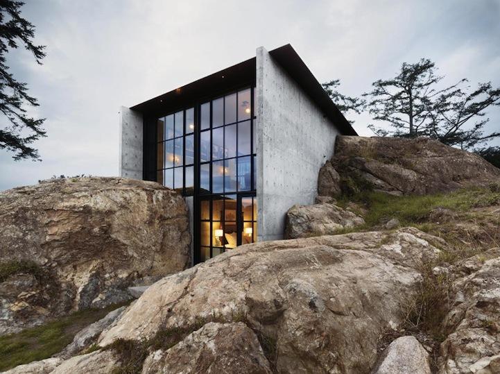 Foto de Casas que inspiran: una fortaleza entre las rocas (1/10)