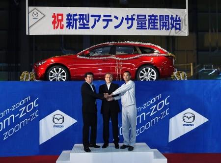 Comienza la producción del nuevo Mazda6