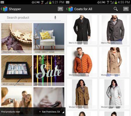 Google Shopper 3.0, pero no en España