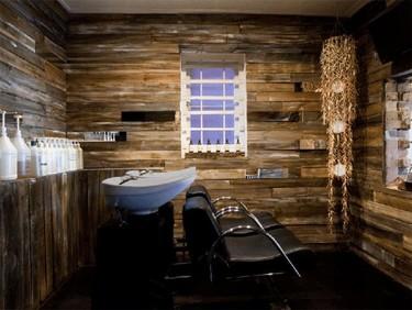 El genial proyecto de interiorosmo de la peluquería Inch Hair Designs