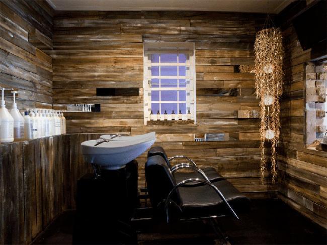 El genial proyecto de interiorosmo de la peluquer a inch - Como disenar una peluqueria ...