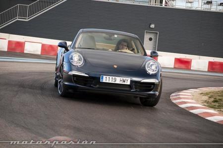 Porsche 911 Carrera 4S prueba frontal