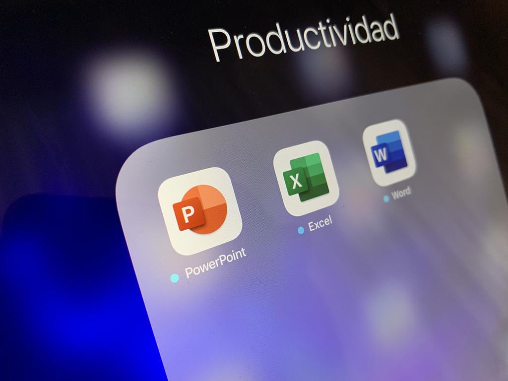 Word, Excel y PowerPoint se actualizan en iOS℗ luciendo unos nuevos iconos más minimalistas y actuales