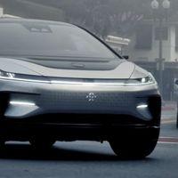 ¡Hola, Tesla! El Faraday Future FF91 se deja ver por primera vez en carretera