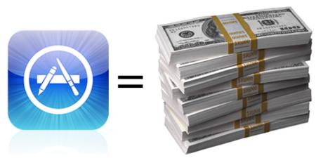 Aplicaciones de pago en el iPhone, ¿Una nueva manera de ganar dinero para Apple?