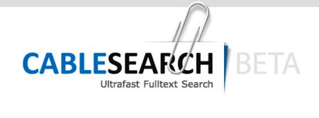 CableSearch.com, un buscador ultra-rápido de cables de Wikileaks