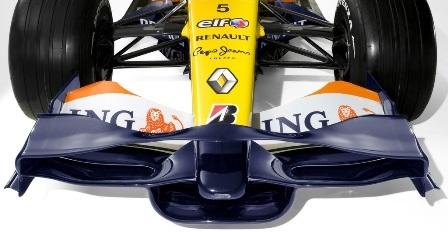 Los pilotos regularán el alerón delantero desde el cockpit en 2009