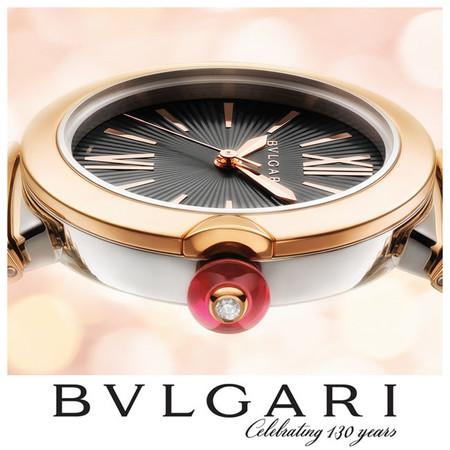 Naomi Watts es la imagen del nuevo reloj Lvcea de Bvlgari, presentado en Baselworld