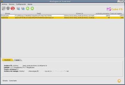 madagascar, un P2P descentralizado