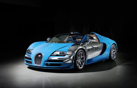 Bugatti rinde homenaje a Meo Constantini en el tercer Veyron de Les Legendes