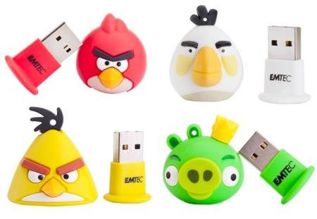 Angry Birds en tu memoria USB