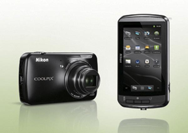 Nikon Coolpix S800c cámara Android