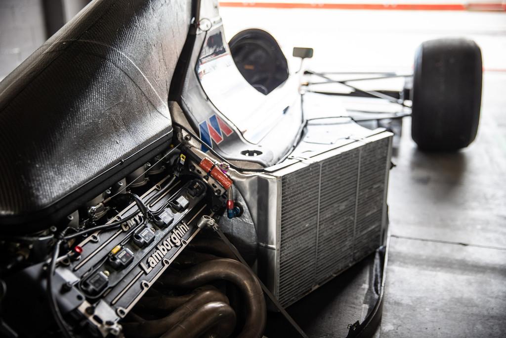 Lamborghini Polo Storico Minardi M191B F1