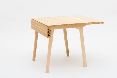 La original mesa extensible de Nathalie Dackelid