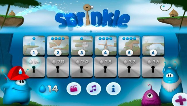 Sprinkle, juego para Android