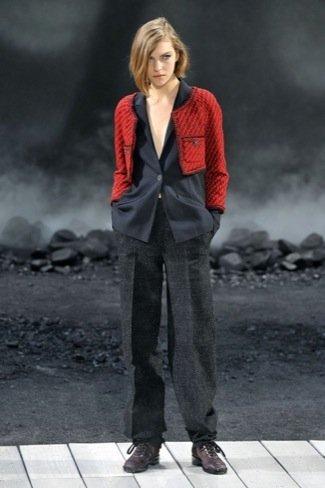 Chanel Otoño-Invierno 2011/2012  rojo
