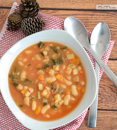 Sopa Verduras Alubias