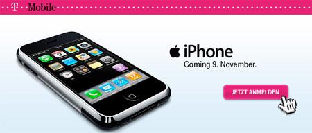 Es oficial: T-Mobile distribuirá el iPhone en Alemania