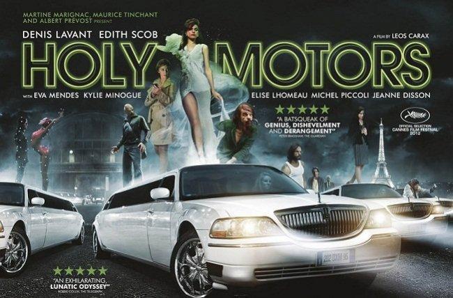 Cartel de Holy Motors