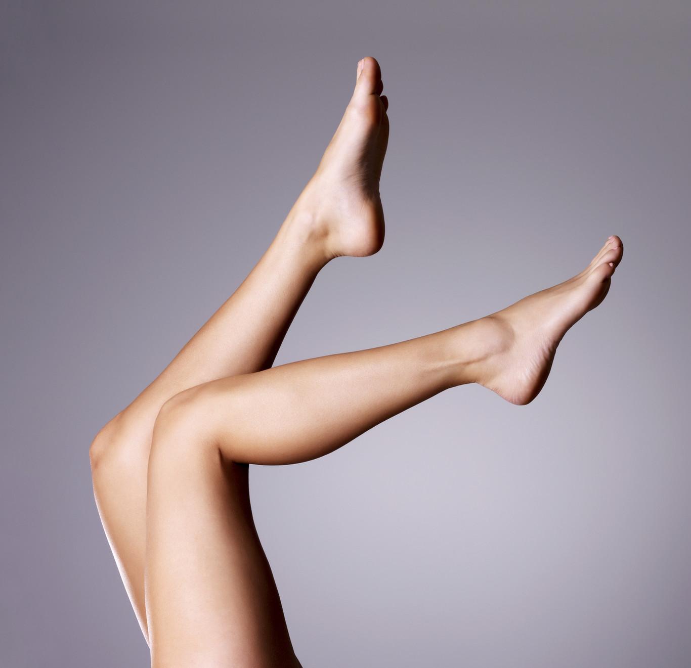 Sobresale la pierna de la duele vena y