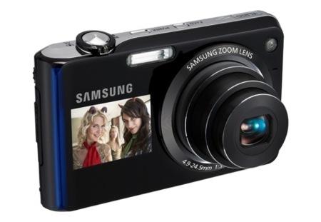 Samsung amplía la gama DualView con la TL210 y la TL205