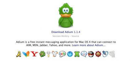 Adium 1.1.4 a la espera de que te actualices