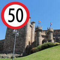 Ponferrada es la primera ciudad española en dar marcha atrás y volver a los 50 km/h como límite de velocidad urbano