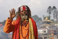 Nepal: Las orillas del río Bagmati en Kathmandu