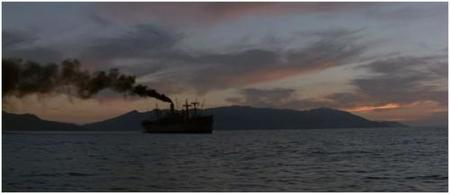 Terrence Malick: 'La delgada línea roja' - En el barco