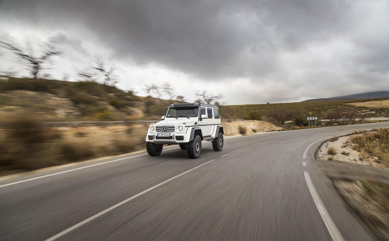 Foto de Mercedes-Benz G 500 4x4², toma de contacto (82/127)