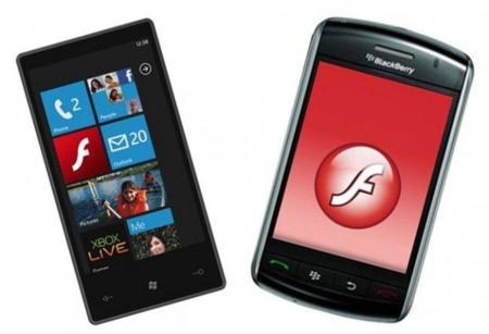 Flash 10.1 hace nuevos amigos: llegará a Windows Phone 7, BlackBerry, webOS y más