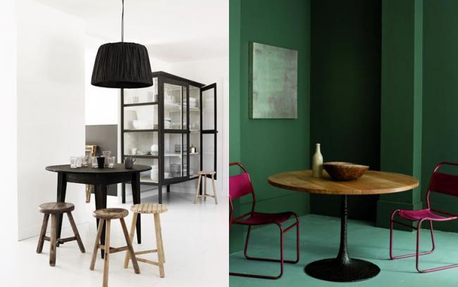Estupendas ideas de c mo decorar tu comedor con una mesa - Comedores mesa redonda ...