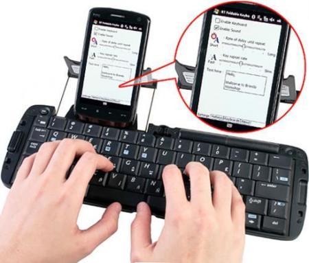 MSI BK100 , teclado portátil para smartphones