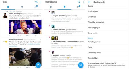 Twitter se pone guapo con Material Design, pero por ahora en versión alpha