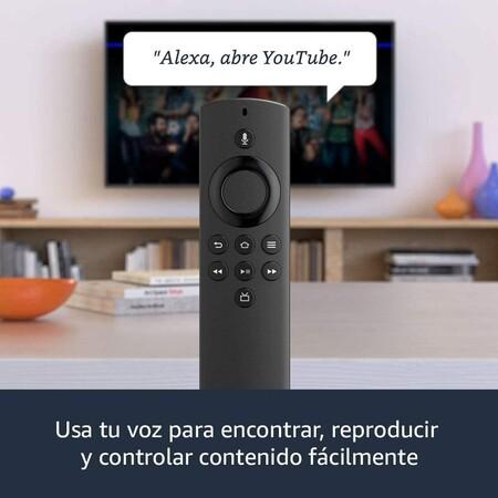 Control por voz con Alexa del Amazon Fire TV Stick Lite