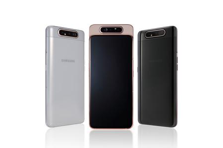 Samsung Galaxy A80: esquivando el notch con un mecanismo deslizante y giratorio