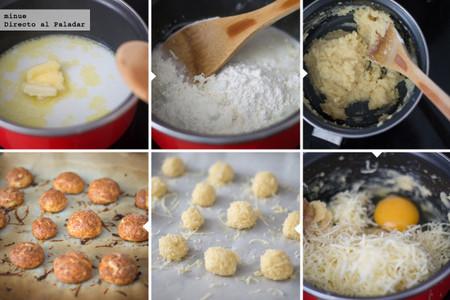 Buñuelos de queso - 2